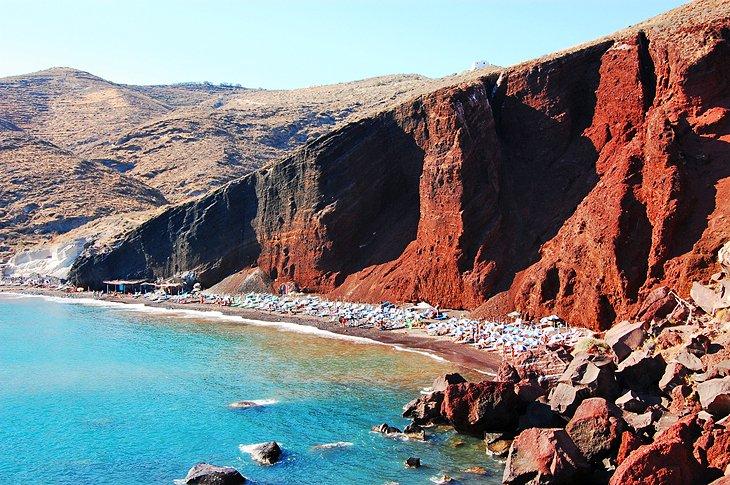 أهم المزارات السياحية في جزيرة سانتوريني اليونانية