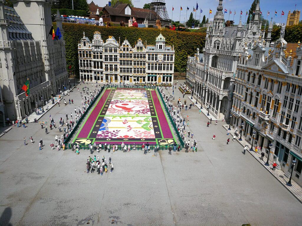 منتزه ميني يوروب أوروبا المصغرة في بروكسل، بلجيكا
