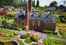 منتزه مادورودام في مدينة لاهاي الهولندية، وهو أحد أشهر المزارات السياحية في هولندا