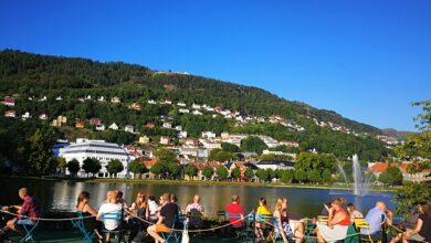 الأماكن السياحية في مدينة بيرجن النرويجية