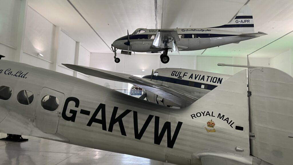 متحف المحطة للطيران بمدينة الشارقة