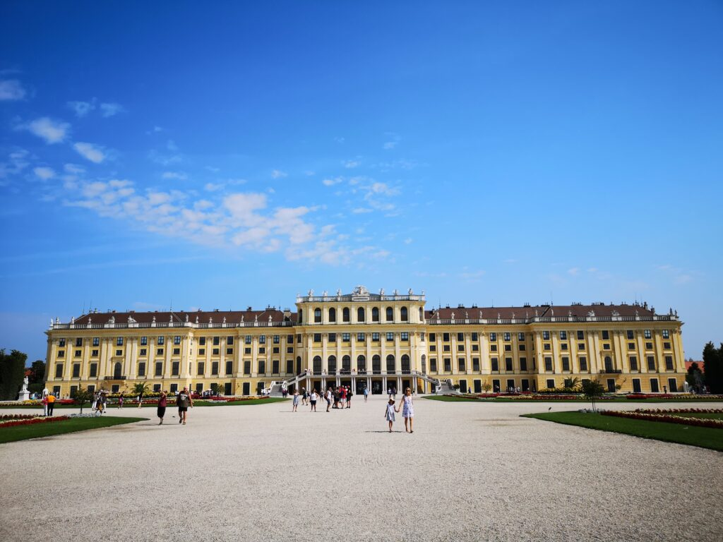 قصر شونبرون في فيينا، النمسا