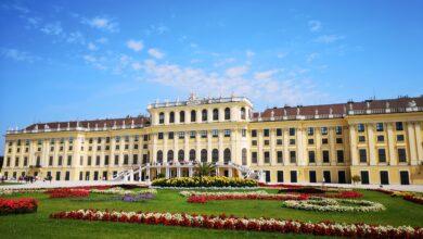 قصر شونبرون في العاصمة النمساوية فيينا